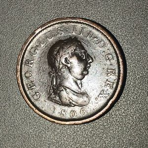Other - 1806 British Half Penny 213 Years Old